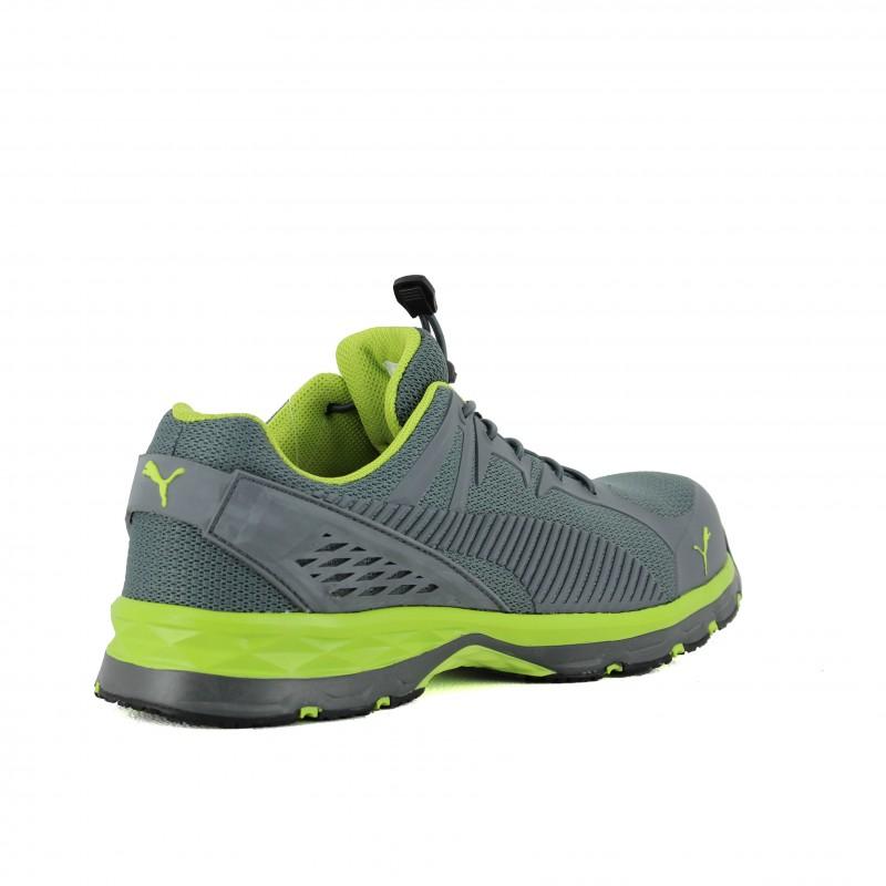 Chaussure de sécurité PUMA FUSE Motion Green Low S1P SRC