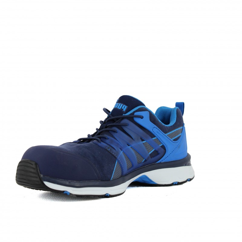 design de qualité a820c b9f66 Basket de sécurité PUMA Velocity 2.0 bleu SIP pour homme ...
