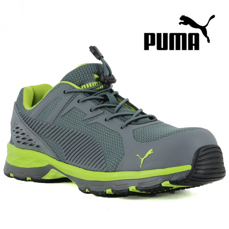 in stock fb5ba 11d00 basket-securite-puma-homme-motion-green