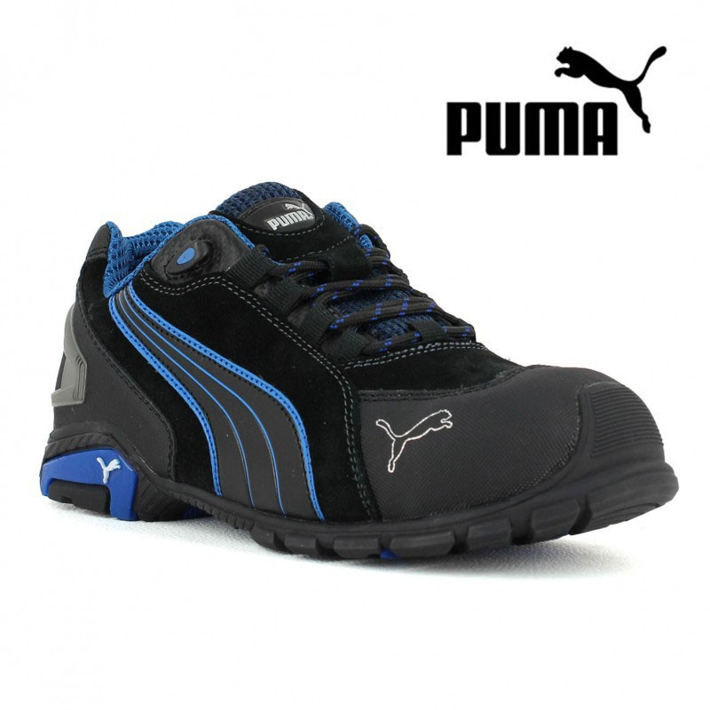 3362de815b Chaussure de securité basket Puma rio black s3 à 77,42€HT LISASHOES