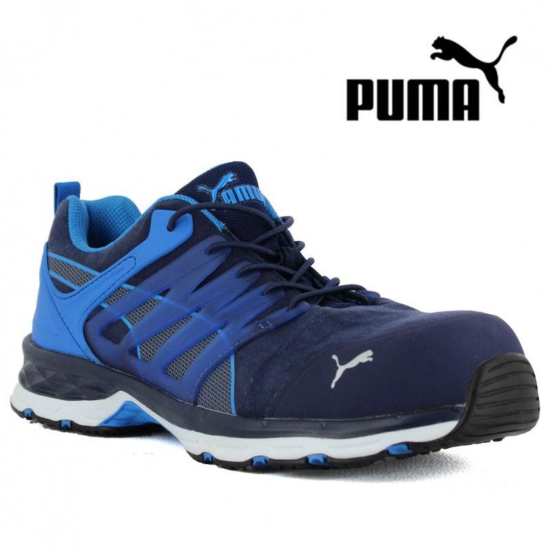 Basket de sécurité PUMA Velocity 2.0 bleu SIP pour homme