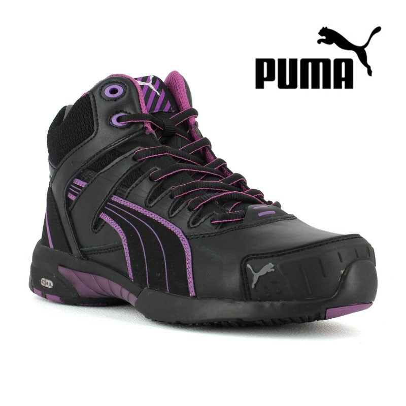 the latest ee19b 990c5 chaussures de securite femme puma stepper