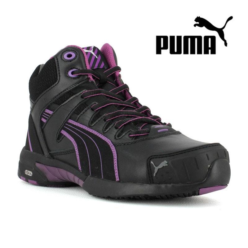 chaussure de s curit femme puma stepper s3 74 58 ht lisashoes. Black Bedroom Furniture Sets. Home Design Ideas
