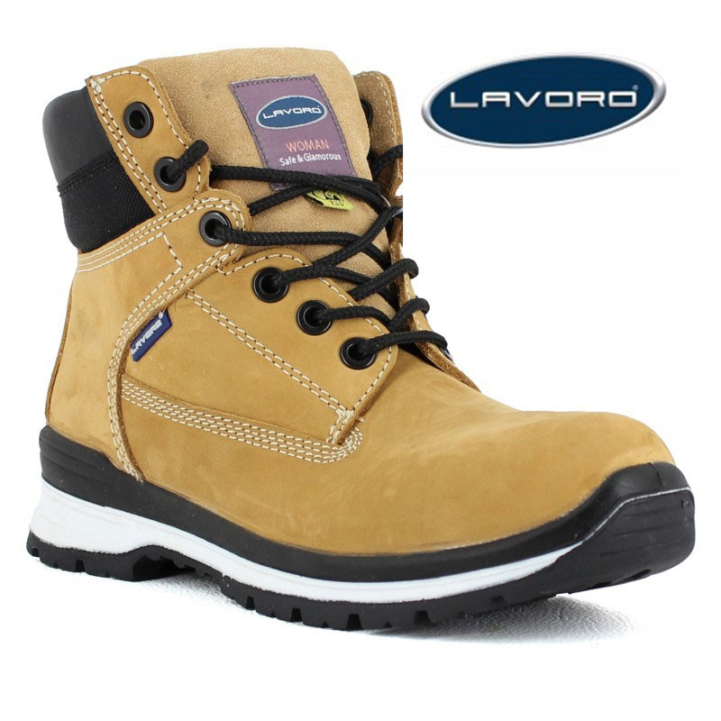 3fb22390e8c Chaussure de sécurité femme style timberland S3 ...