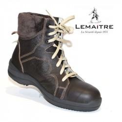 chaussure bottine de securite  souple pour femme