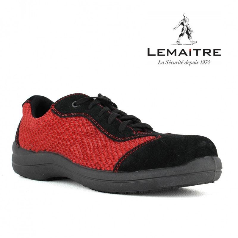 chaussure de securite femme souple pied sensible