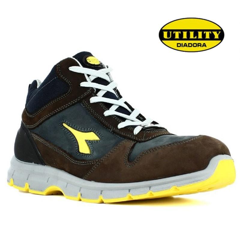 chaussure de s curit haute pour hommes l g re confortable lisashoes. Black Bedroom Furniture Sets. Home Design Ideas