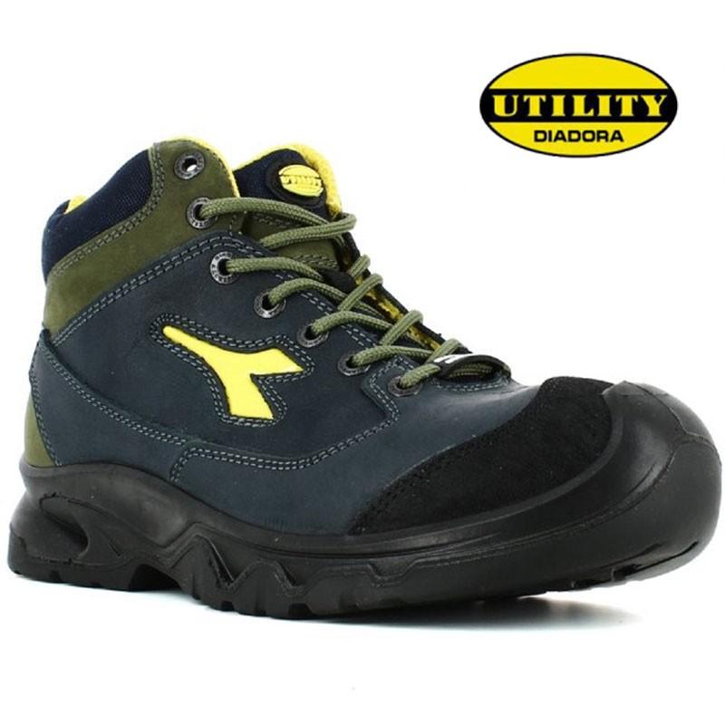 chaussures de sécurité hautes hommes s3