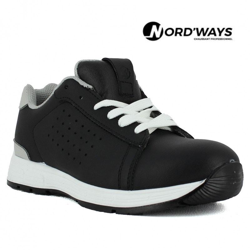 chaussures de sport 95726 38c4d CHAUSSURE DE CUISINE ET AGRO ALIMENTAIRE POUR HOMMES NOIR ET BLANCHE