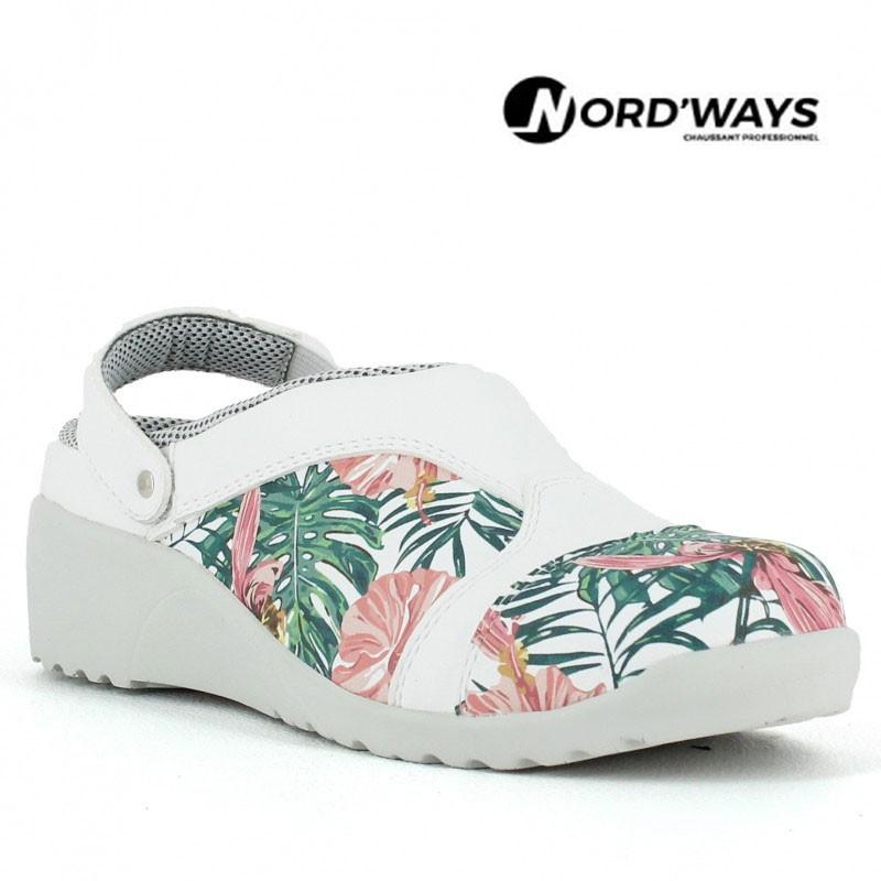 Découvrez attrayant et durable chaussures élégantes SABOT MÉDICAL NORDWAYS FIONA AVEC EMBOUT DE SÉCURITÉ