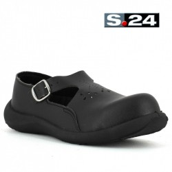 chaussure sécurité femme eva noir S24