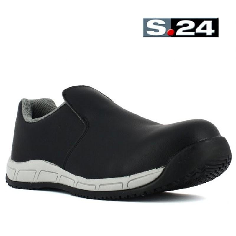 Chaussure De Cuisine Noir Tres Confortable Haut De Gamme Lisashoes
