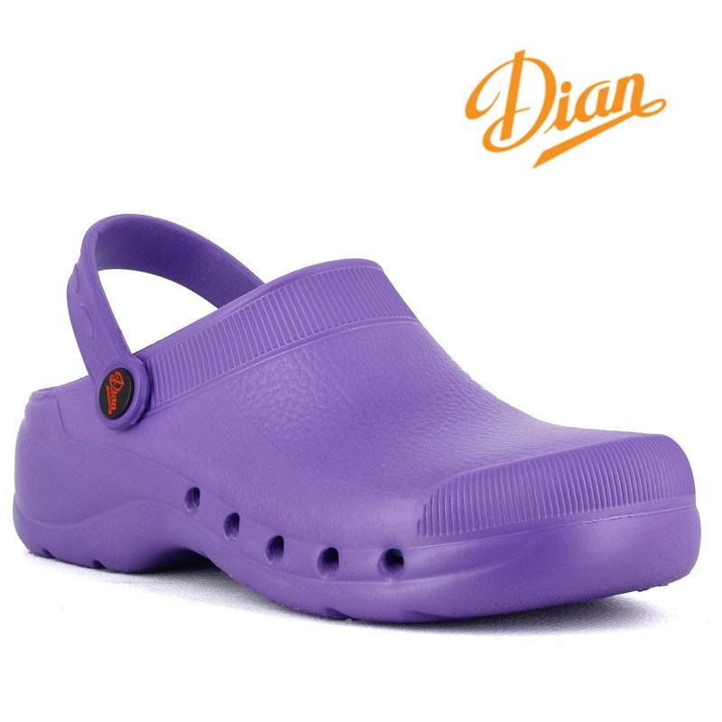 1161a30f194 chaussure-medicale-pour-aide-soignante-violet · sabot-medicale-violet-pas- cher ...