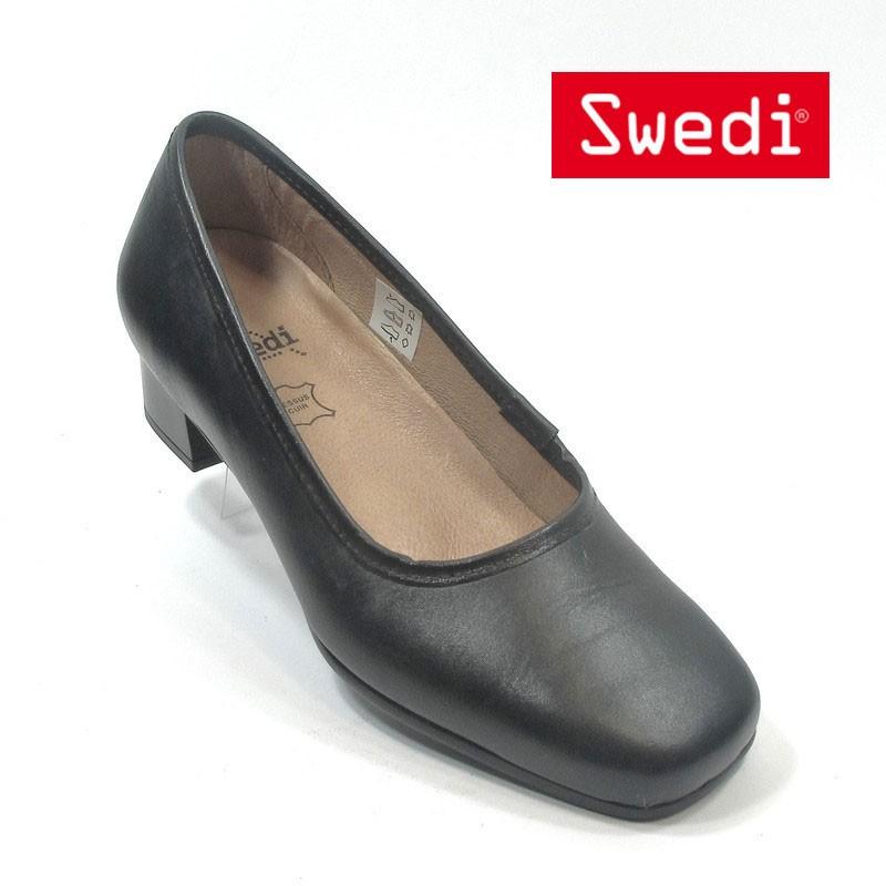 chaussure de service et hotellerie noir
