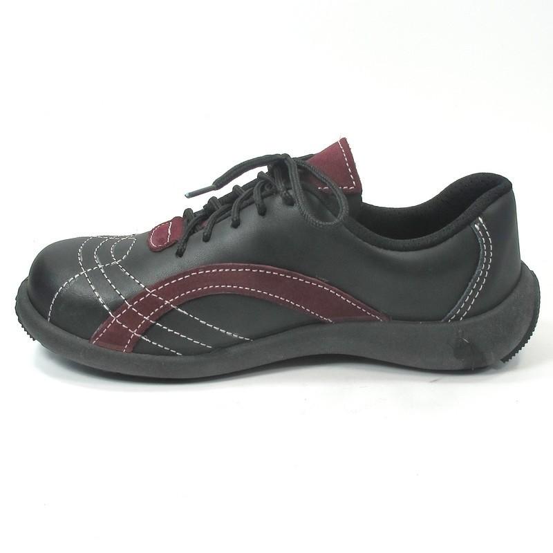 chaussure de s curit femme l g re lisashoes. Black Bedroom Furniture Sets. Home Design Ideas