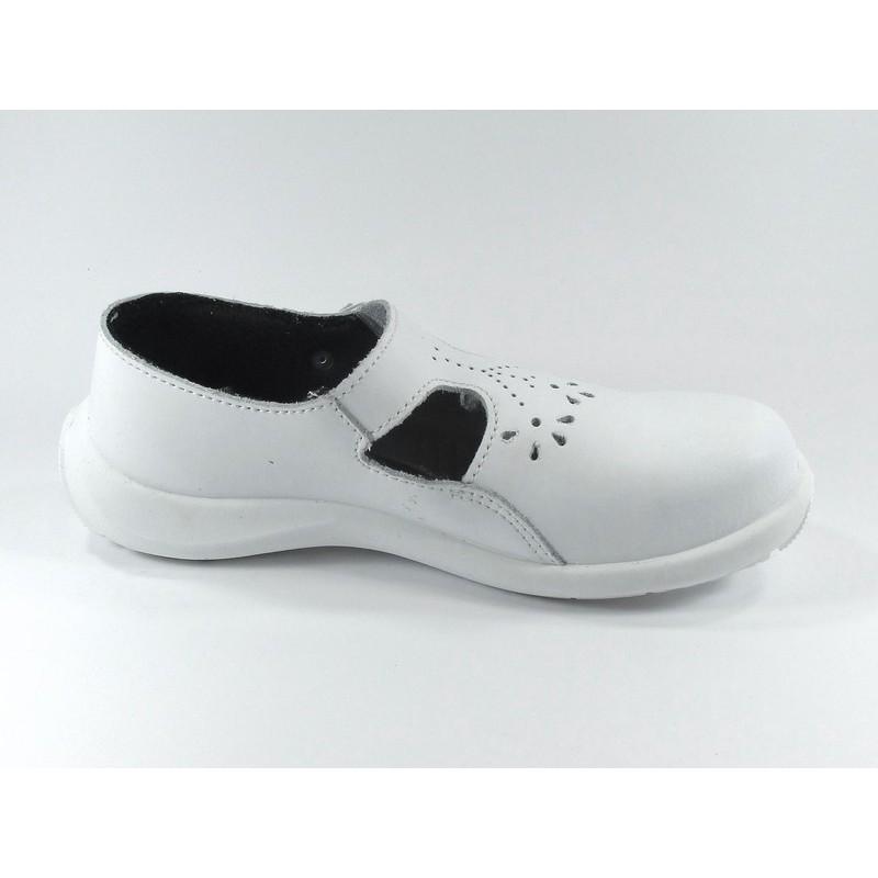 vente chaude en ligne 46412 70430 Chaussure de sécurité blanche pour femme LISASHOES