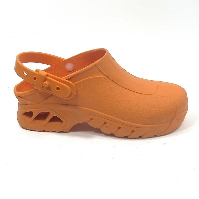 chaussure de bloc orange pas cher lisashoes. Black Bedroom Furniture Sets. Home Design Ideas