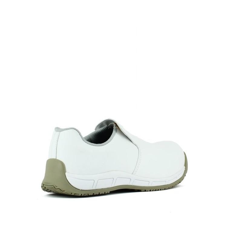 59c388d84d1 Chaussure de cuisine agroalimentaire blanche et confortable LISASHOES