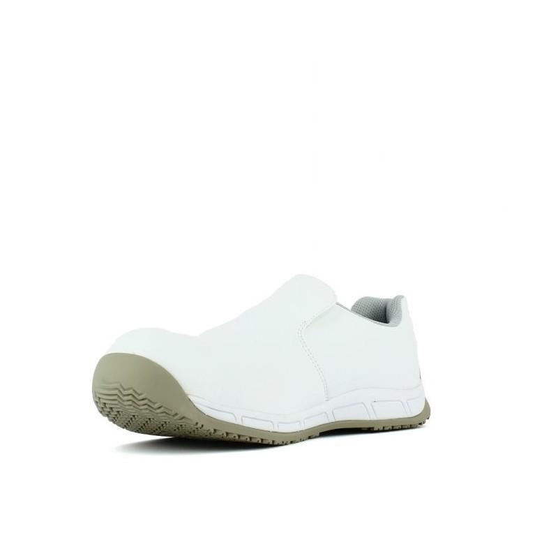 chaussure de cuisine agroalimentaire blanche et confortable lisashoes. Black Bedroom Furniture Sets. Home Design Ideas