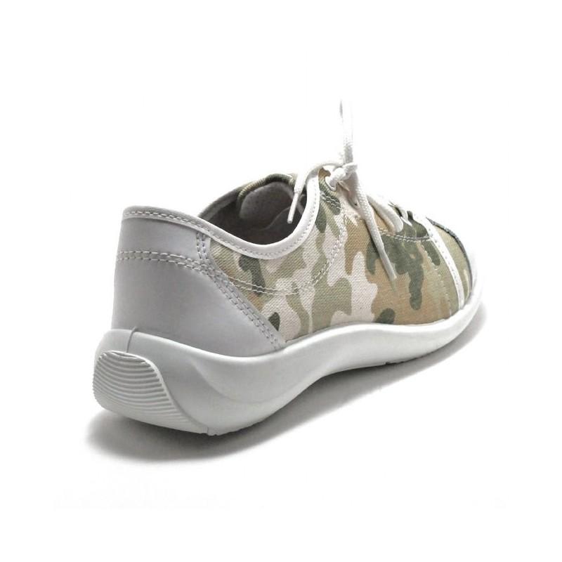 de LISASHOES pour camouflage toile Basket femme sécurité confortable XZiuPk