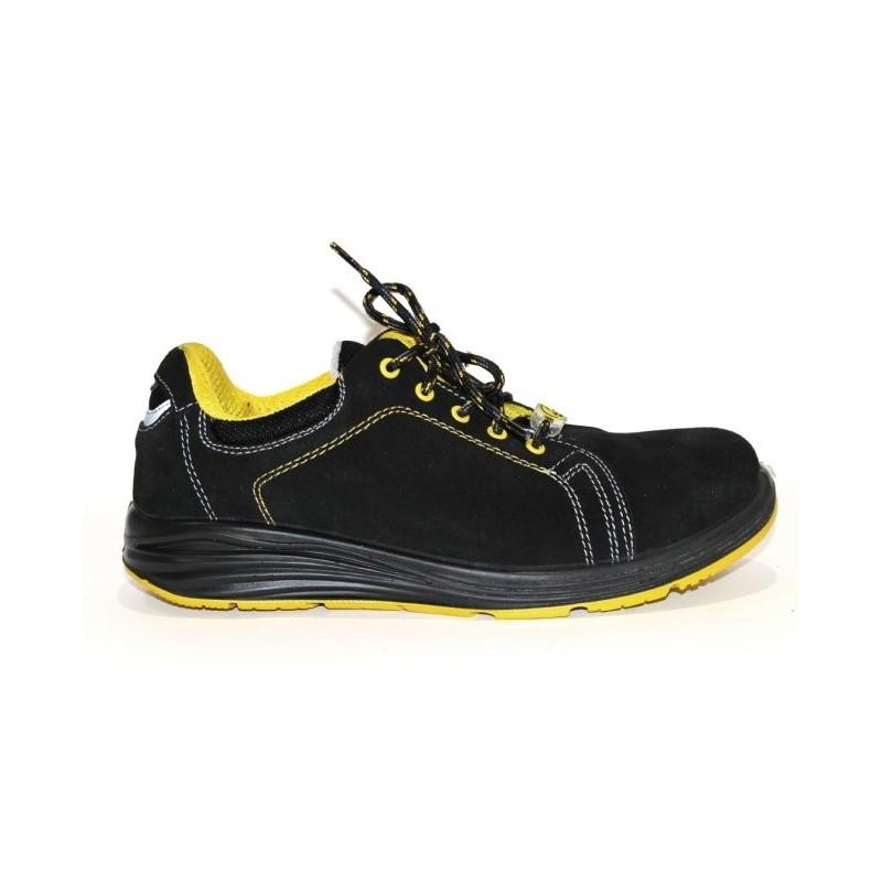 chaussure de securite basket cuir lisashoes. Black Bedroom Furniture Sets. Home Design Ideas