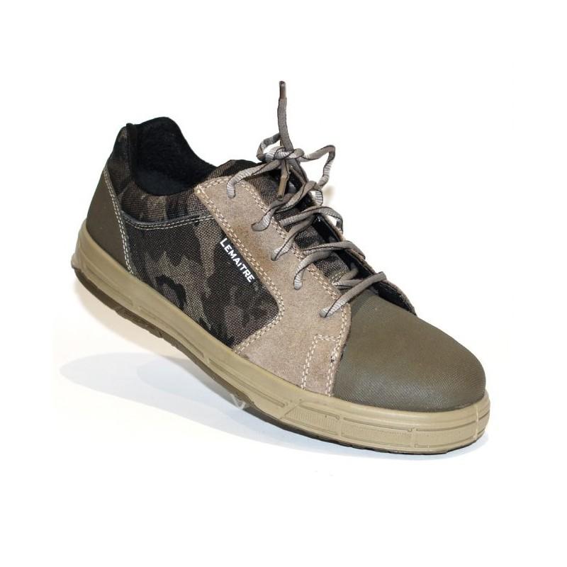chaussure de s curit basket tr s souple l g re camouflage lisashoes. Black Bedroom Furniture Sets. Home Design Ideas