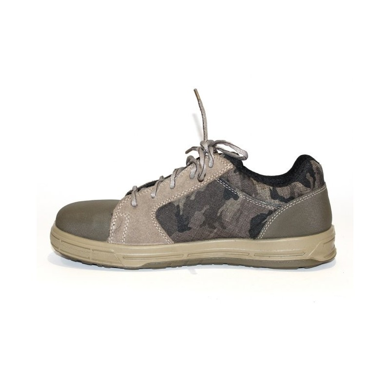 chaussure de s curit basket tr s souple l g re camouflage lisashoes. Black Bedroom Furniture Sets. Home Design Ideas