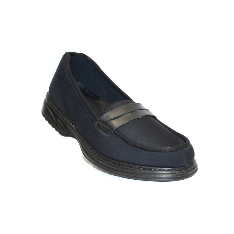chaussure confort mocassin homme pour pieds sensibles lisashoes. Black Bedroom Furniture Sets. Home Design Ideas