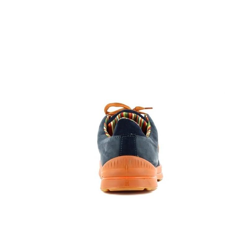 Chaussure de sécurité homme btp chantier bleu LISASHOES e4be80beca8d