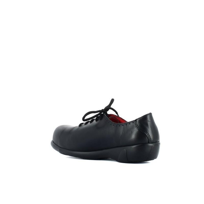 Chaussure de s curit noire ville s3 pour femmes lisashoes - Chaussure de securite confortable et legere pour femme ...
