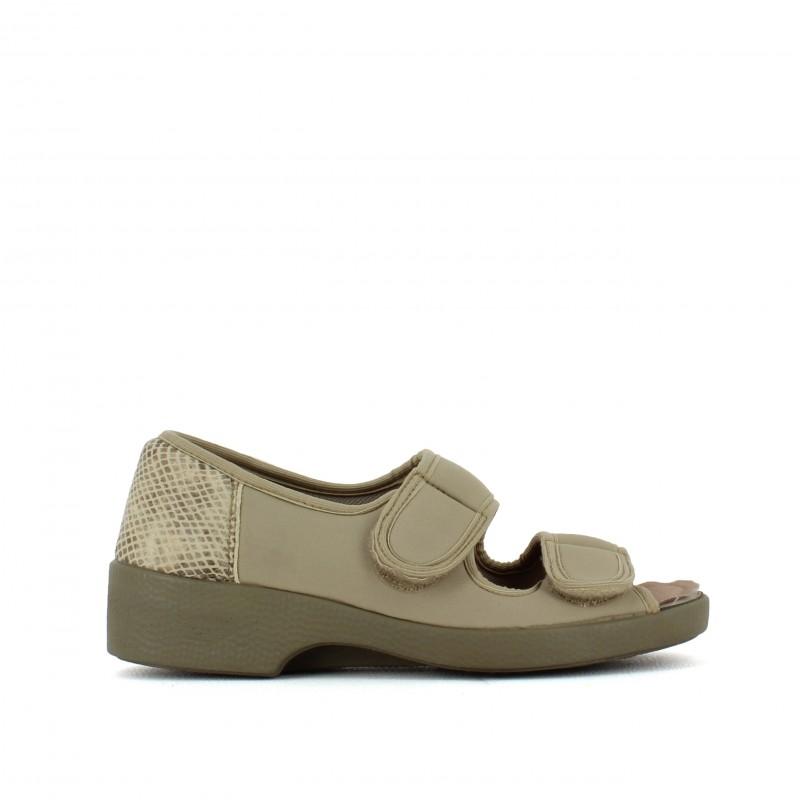 Chaussures de confort pieds sensibles femme pas cher SOLDES