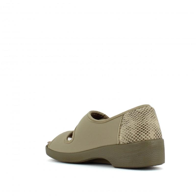 c1e7dd4b608f Chaussures de confort pieds sensibles femme pas cher SOLDES LISASHOES