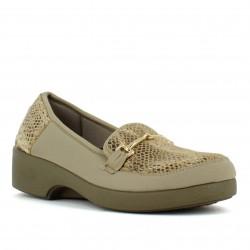 chaussure de sécurité mocassin femme