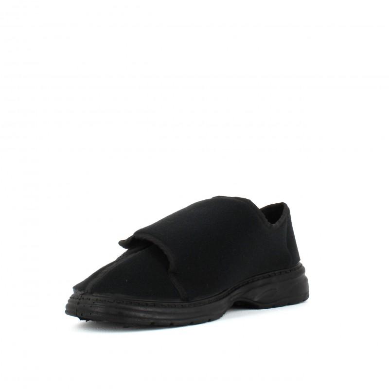 bb66f8937d960 Pantoufle avec velcro pour pieds sensibles LISASHOES SOLDES