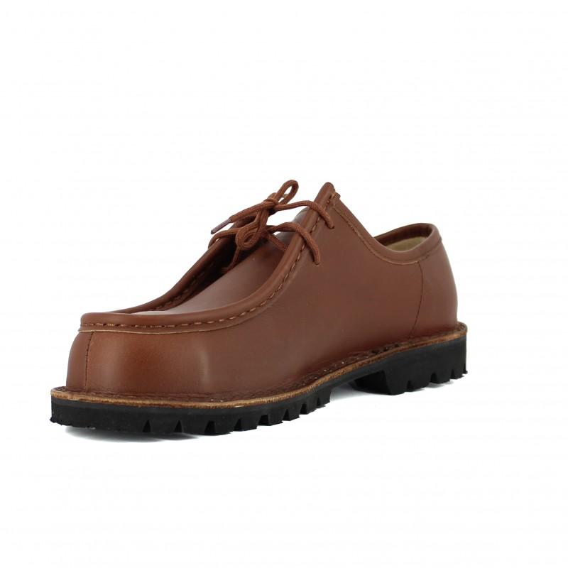 chaussure de s curit ville coqu e marron hommes lisashoes. Black Bedroom Furniture Sets. Home Design Ideas