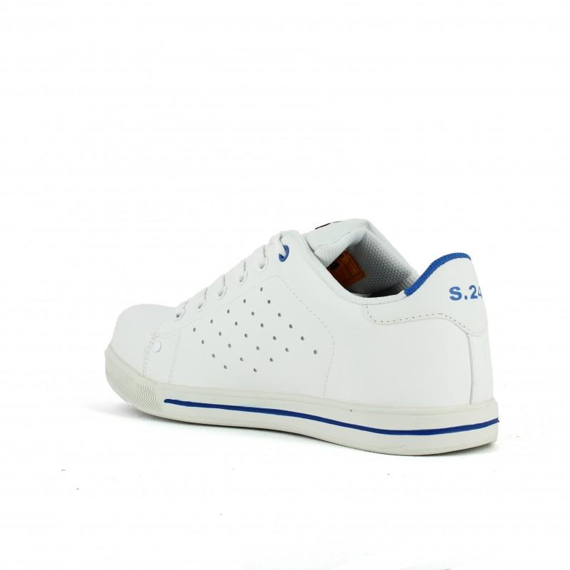 chaussure basket de securite souple pour peintre lisashoes