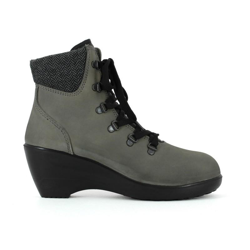 612d273511b chaussure de sécurité femme avec talon compensée esd ...