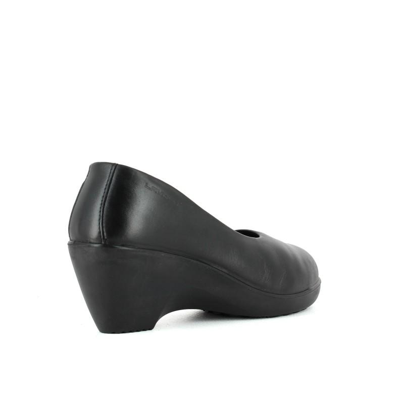 nouveau produit 68d2c 7daaa Chaussure escarpin de sécurité pour femme à talon compense ...