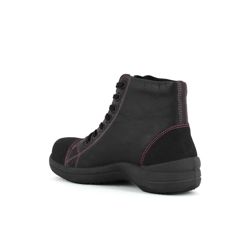 chaussure de s curit libert 39 in haute ultra l g re femme lisashoes. Black Bedroom Furniture Sets. Home Design Ideas