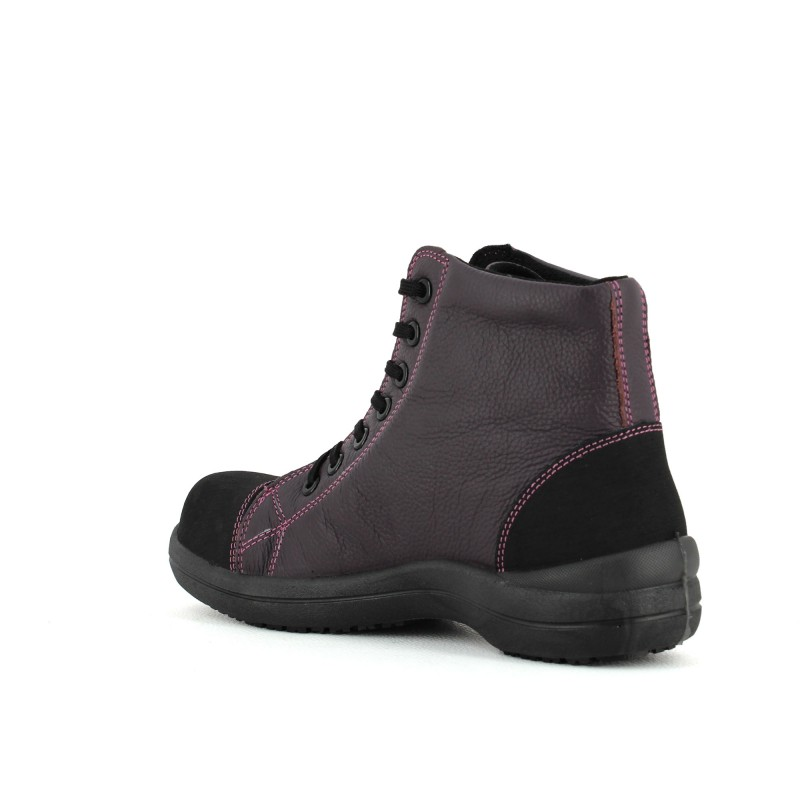 chaussure de securite basket pour femme lisashoes. Black Bedroom Furniture Sets. Home Design Ideas