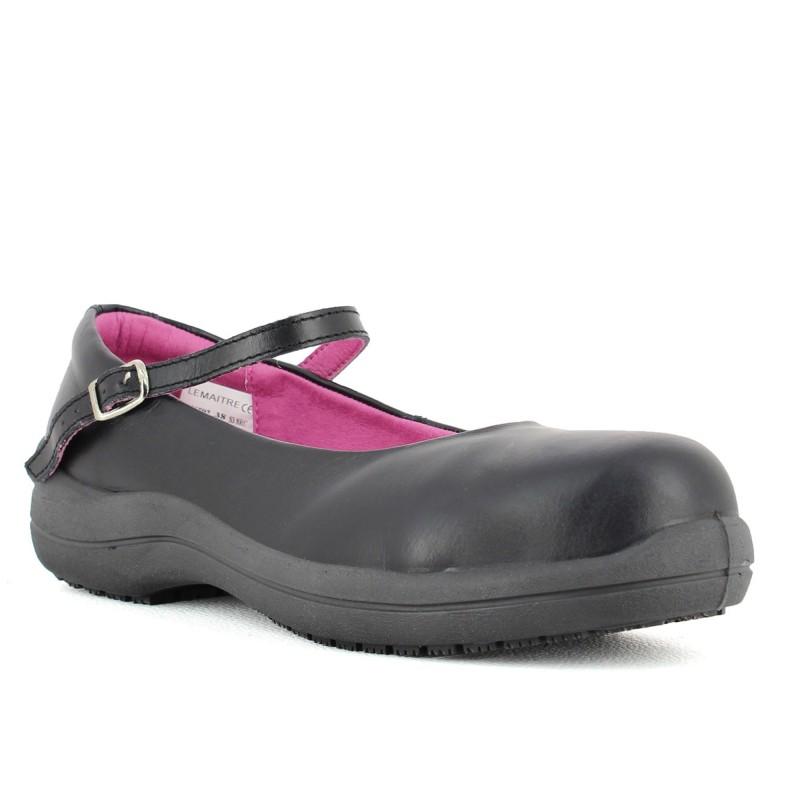chaussure ballerine de s curit pour femme lisashoes. Black Bedroom Furniture Sets. Home Design Ideas