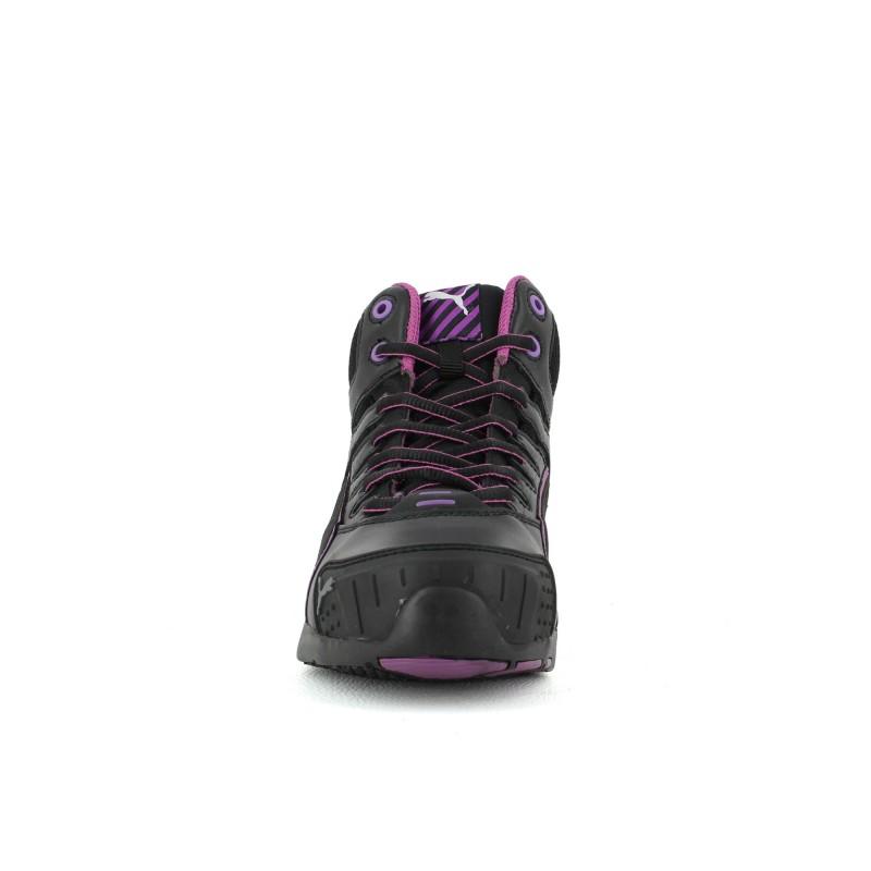 chaussure de securite femme puma baskets de scurit montantes femme puma stepper rose s with. Black Bedroom Furniture Sets. Home Design Ideas