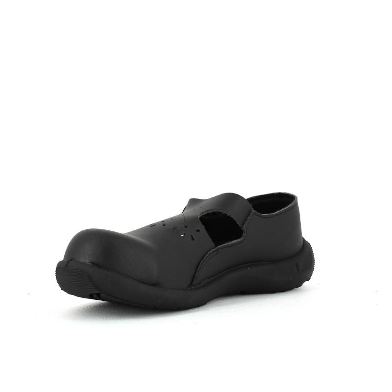 chaussure de s curit noire l g re confort femme. Black Bedroom Furniture Sets. Home Design Ideas