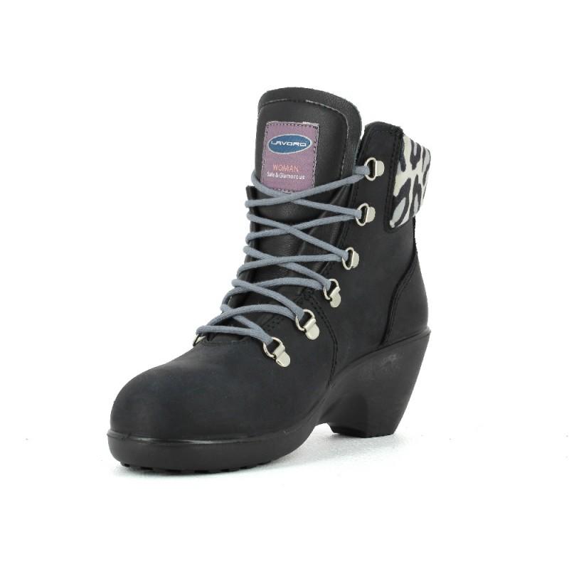 chaussure de s curit femme confortable legere et solide lisashoes. Black Bedroom Furniture Sets. Home Design Ideas