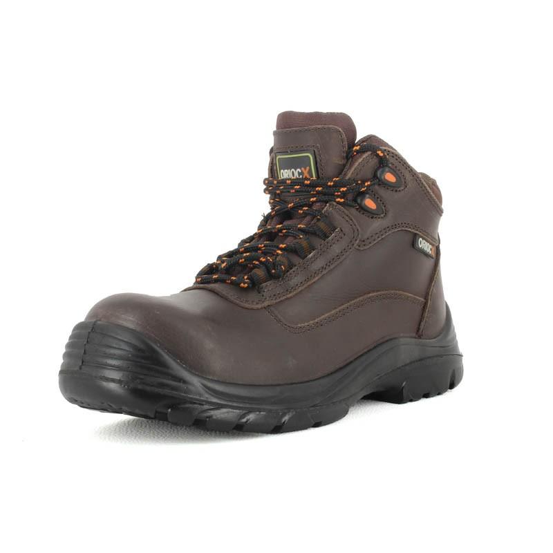 meilleur site web b427d dc2b2 Chaussure de sécurité hiver haute en cuir homme | Lisashoes