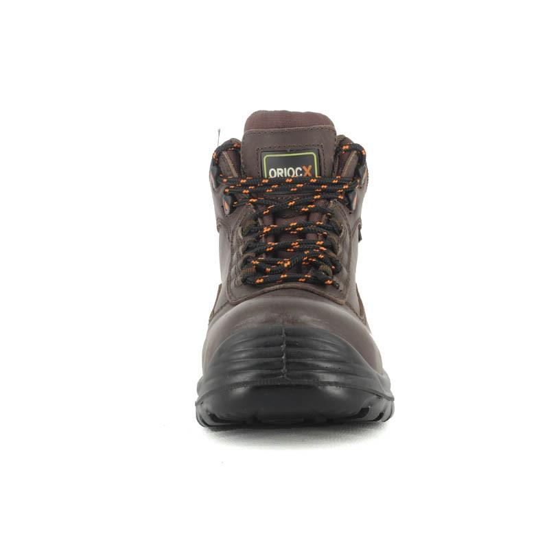 chaussure de s curit hiver haute en cuir homme lisashoes. Black Bedroom Furniture Sets. Home Design Ideas