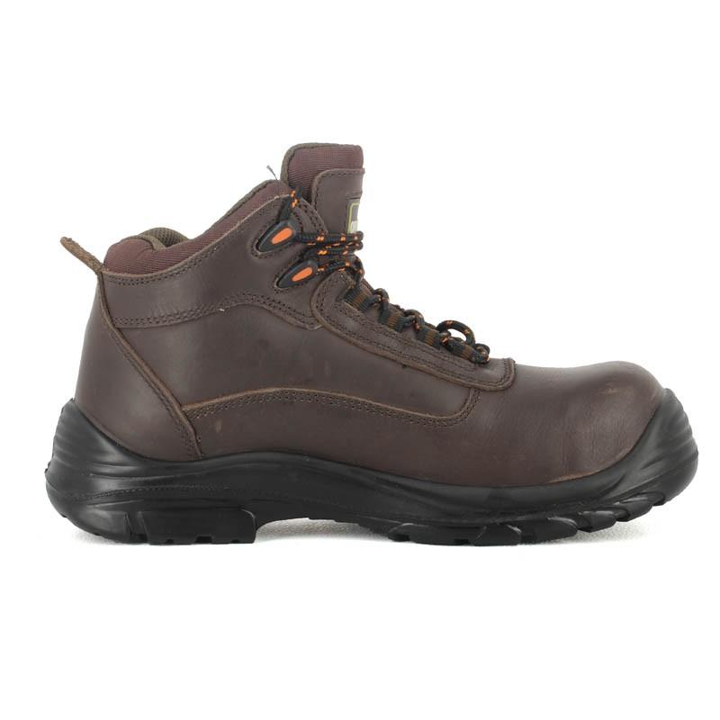 profiter de gros rabais prix modéré 100% authentique Chaussure de sécurité hiver haute en cuir homme | Lisashoes