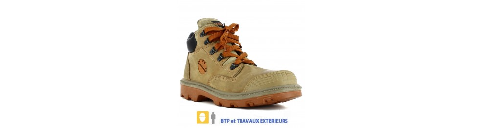 Chaussure de sécurité Chantier et BTP Exterieur