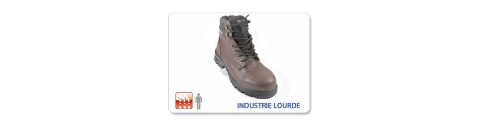 Chaussure de sécurité Industrie Lourde