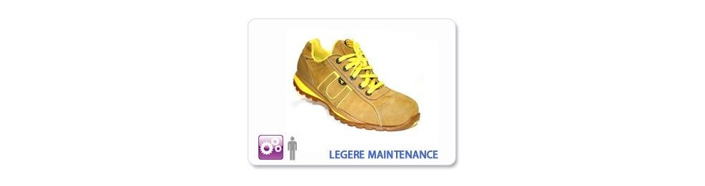 CHAUSSURE SECURITE INDUSTRIE LEGERE ET MAINTENANCE
